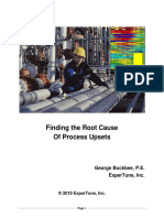 Finding Root Cause of Process Upsets