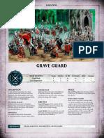 Aos Warscroll Grave Guard En