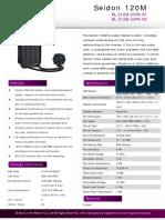 Seidon 120M Product Sheet
