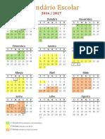 Calendario Escolar 2016 17