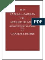 (1917) Ch. F. Horne, Yatkar-I Zariran