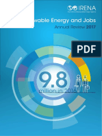 IRENA Renewable Energy Jobs - Annual Review 2017