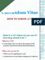 Presentation- CV 1