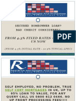 Self Cert Mortgages