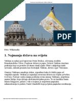 Devet Stvari Koje Trebate Znati o Vatikanu _ Bitno