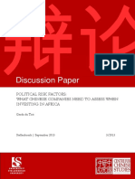 Toit (2013), nÇáPolitical Risk Factors_What Chinese Companies Need to Asses when Investing in Africa.pdf