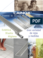 Catálogo Cainox Cocina