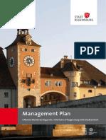 REGENSBURG Managementplan Engl 2013