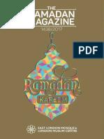 East London Mosque Ramadan Magazine 2017