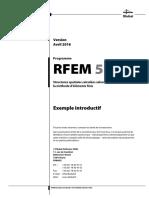 Rfem 5 Exemple Introductif Fr Dlubal