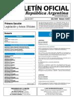 Boletín Oficial de la República Argentina, Número 33.631. 25 de mayo de 2017
