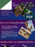 Historia de La Fotografia Digital