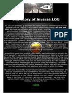 Story of Inverse Log