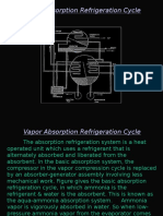 Vapor Absorption Refrigeration Cycle