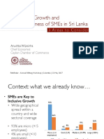 Growth and Competitiveness of SMEs in Sri Lanka - 3 Areas to Consider