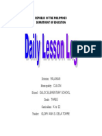 DAILY Lesson Log