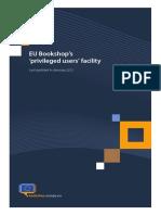 EU Bookshop PU Guide en 2013
