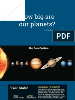 how big are our planets-  1