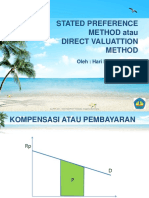 Stated Preference Method