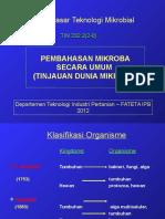Dtm II. Mikroba Umum