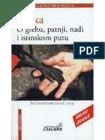 O Grehu, Patnji, Nadi i Istinskom Putu - Franz Kafka