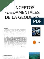 Diapositivas Conceptos de Geodesia