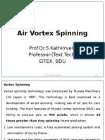 Air Vortex Spinning