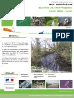 Bulletin de situation hydrologique Bassin Artois-Picardie source