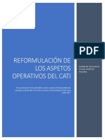 Reformulación Procesos CATI 2017