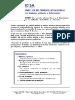 Desinfectante Desincrustante a.citrico