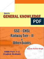 9000 General Knowledge Questions for all Competitive Exams