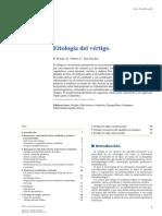 Etiologia Del VERTIGO