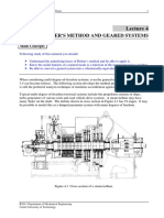 Holzer's Method and Geared Systems