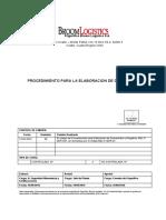 Bgl-p-ger-01 Revision 00 Procedimiento de Elaboracion de Documentos y Registros