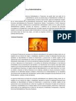 Gerencia Financiera y Administrativa