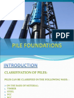Pile Foundations Pptr