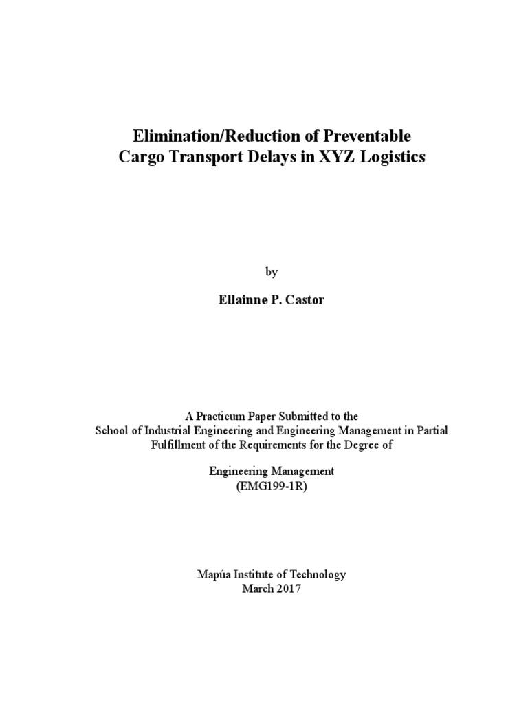 Dissertation proposal logistics
