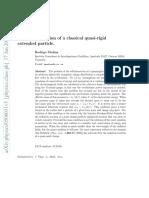 Radiation reaction of a classical quasi-rigid extended particle... Rodrigo Medina