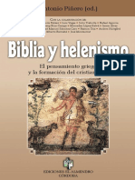 Piñero, Antonio - Biblia y Helenismo