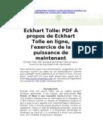 Eckhart Tolle FR