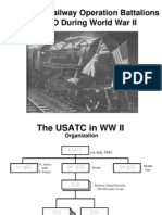 Railroads WWII ETO