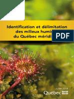 Identification Delimitation Milieux Humides