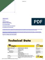 Rendimientos y Catalogos Maquinaria_maquinario