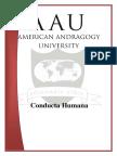 AAU ConductaHumana