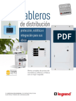Folleto Tableros de Distribucion Legrand
