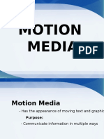 motion media presentation by carla - edtech 210--