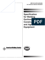 Aws d14. 3 1994 specification for welding earthmoving and con.