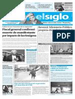 Edición Impresa El Siglo 25-05-17
