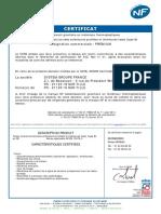 CERTIFICAT CSTB N°82-01-TRAN-05 - TUBES ANNELES PREMIUM SYSTEM GROUP