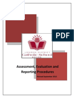 4 - assessment 2c evaluation and reporting procedure - as of sept 2012